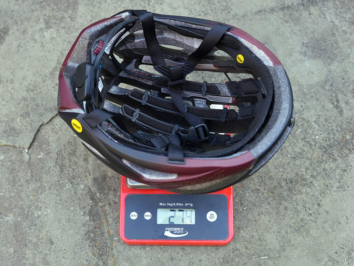 specialized prevail 2 vent road bike helmet actual weight