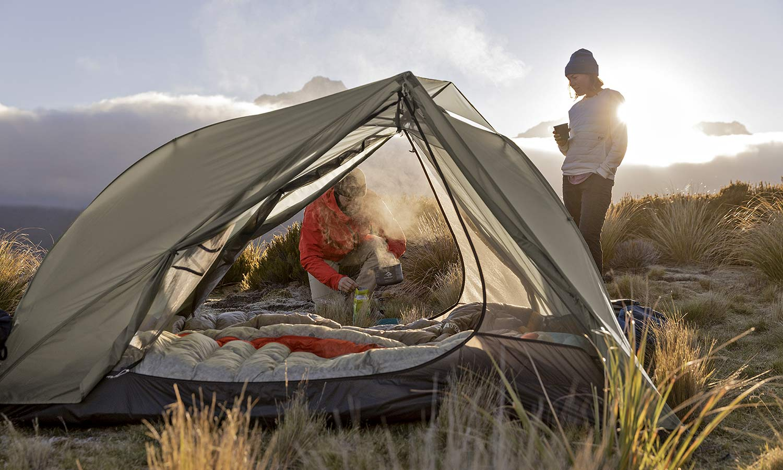 Sea to Summit Alto and Telos TR lightweight tents, Tension Ridge modular 3-season ultralight bikepacking tent