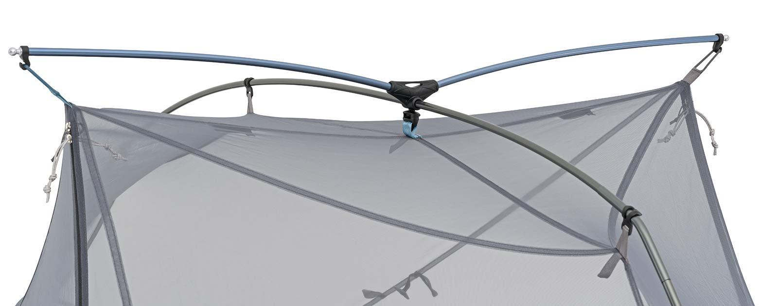 Sea to Summit Alto and Telos TR lightweight tents, Tension Ridge detail