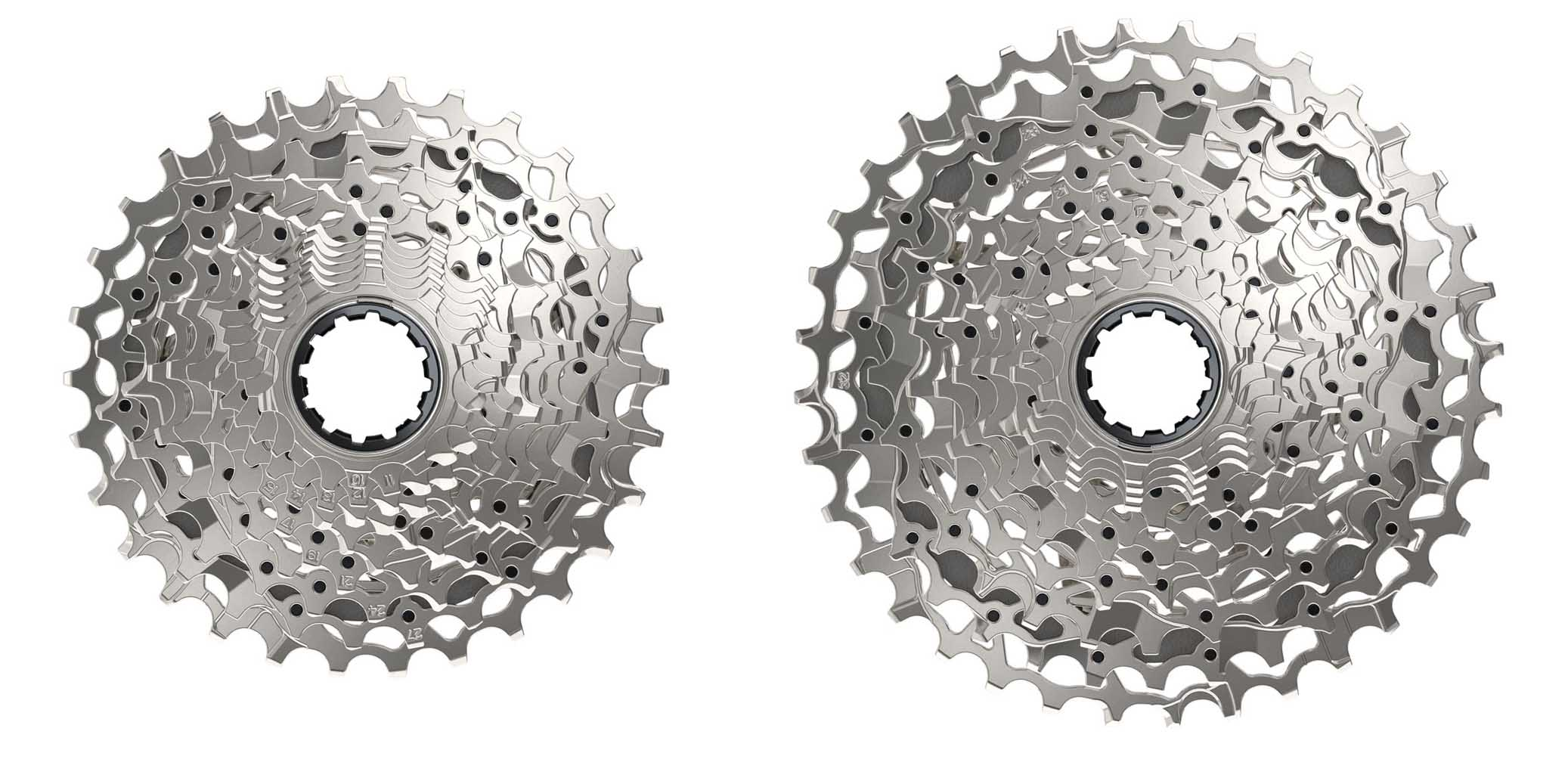 SRAM Rival eTap AXS cassette options