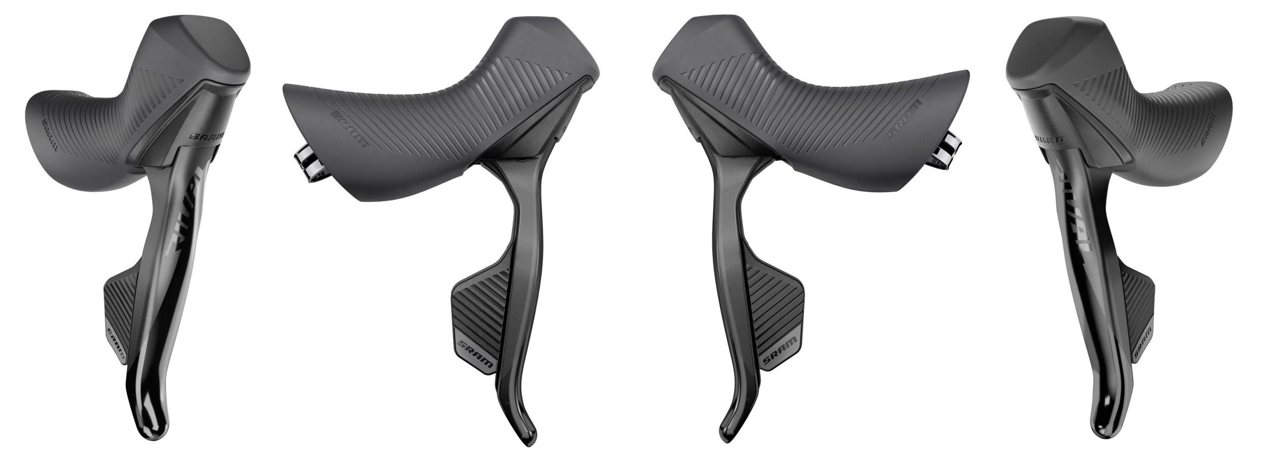 SRAM Rival eTap AXS shifter hood lineup
