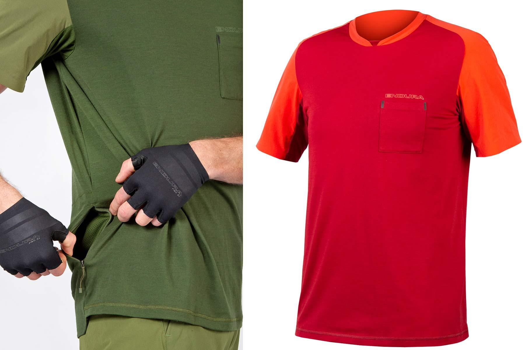 Endura GV500 Gravel Collection clothing, Dirty Reiver & Aberfoyle off-road-ready cycling kit,Foyle t-shirt