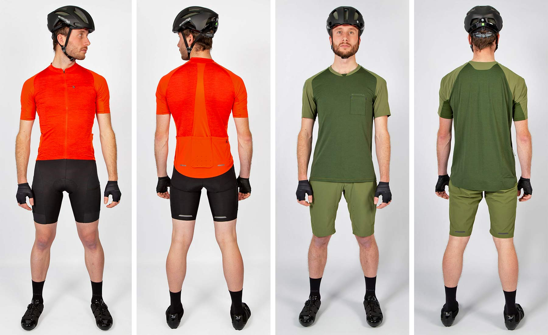 Endura GV500 Gravel Collection clothing, Dirty Reiver & Aberfoyle off-road-ready cycling kit,options