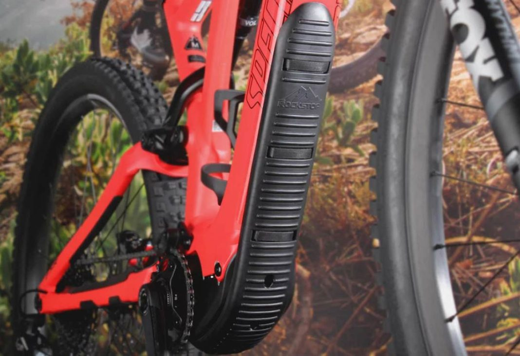 rockstop emtb frame protection frame guard protects downtube motor specialized levo