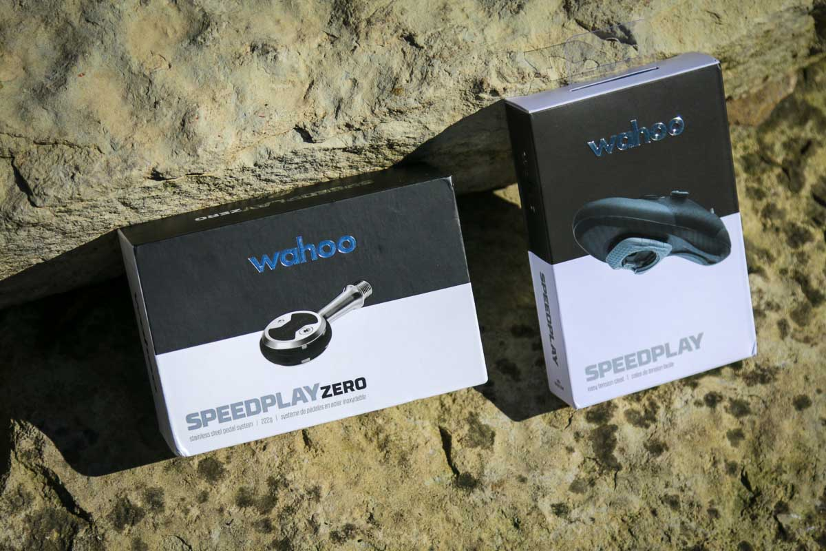 Wahoo Speedplay Advanced Pedal System in boxes
