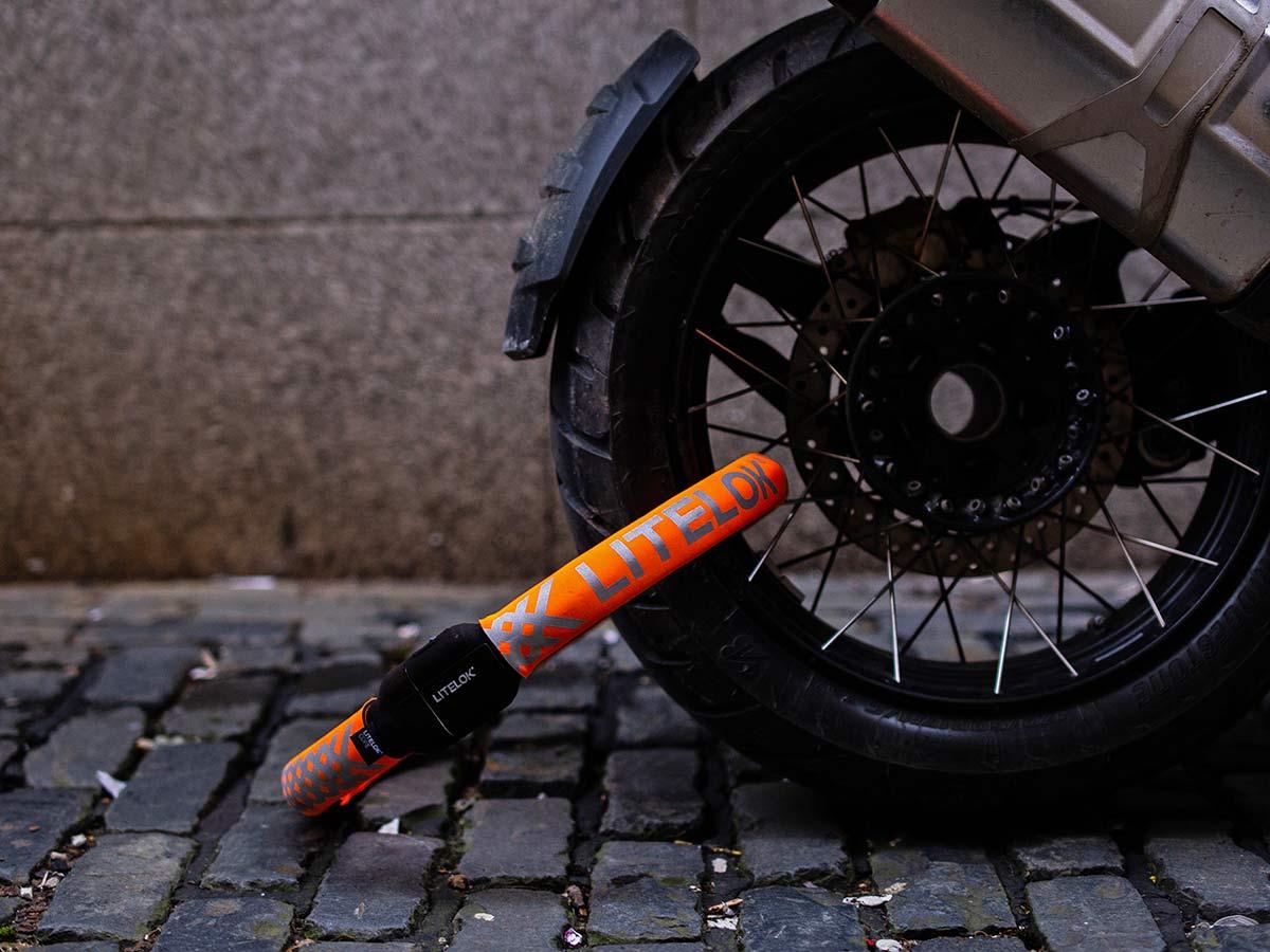 Litelok Core lightweight flexible wearable Sold Secure Bicycle Diamond city bike lock,motorcycle Gold rated