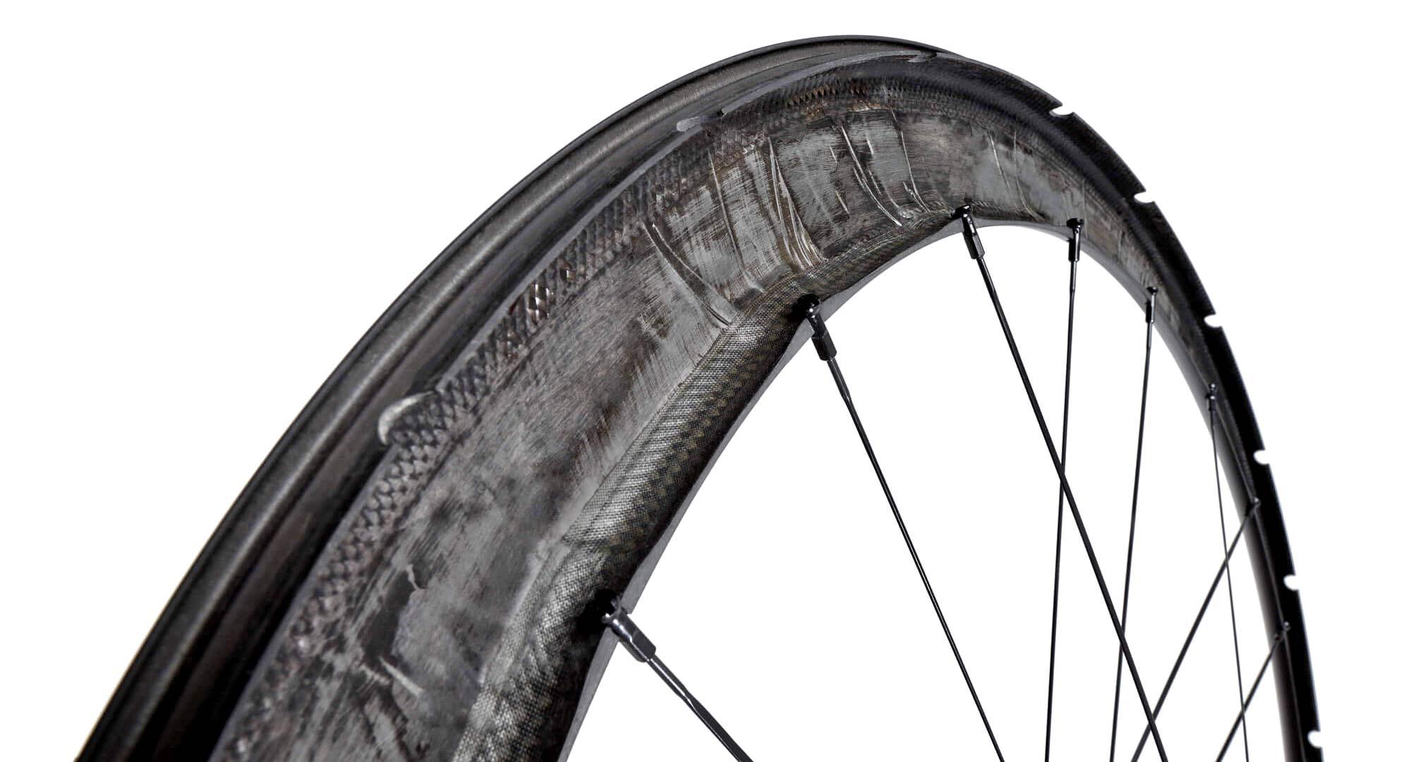 Scope All-Road aero carbon gravel bike wheels, lightweight aerodynamic tubeless carbon layup