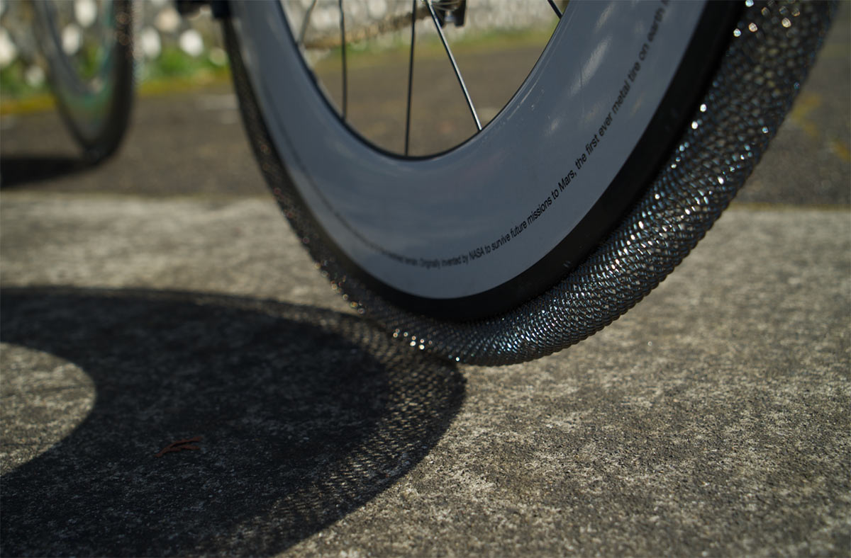 smart metl alloy bicycle tires from nasa