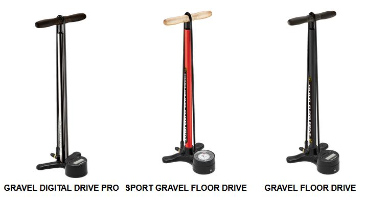 Lezyne Gravel Floor Pumps