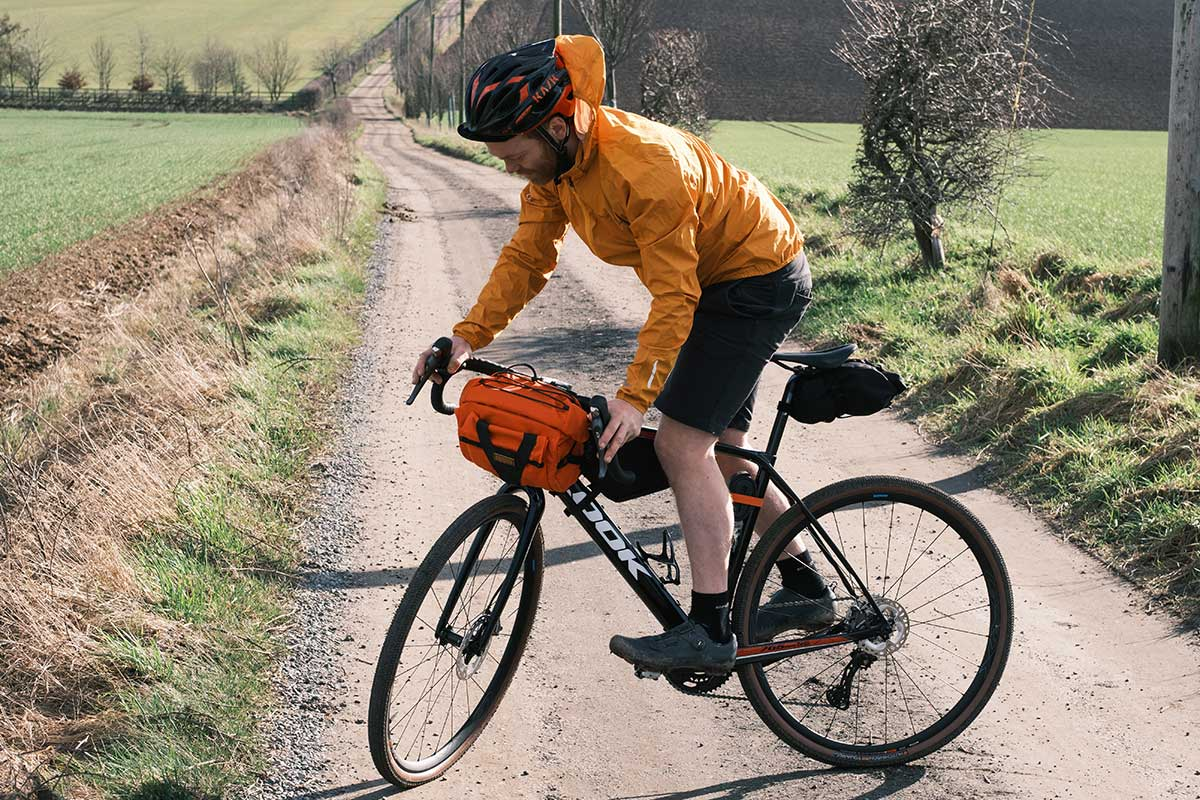 restrap bar pacl handlebar bag waterproof gravel adventure riding