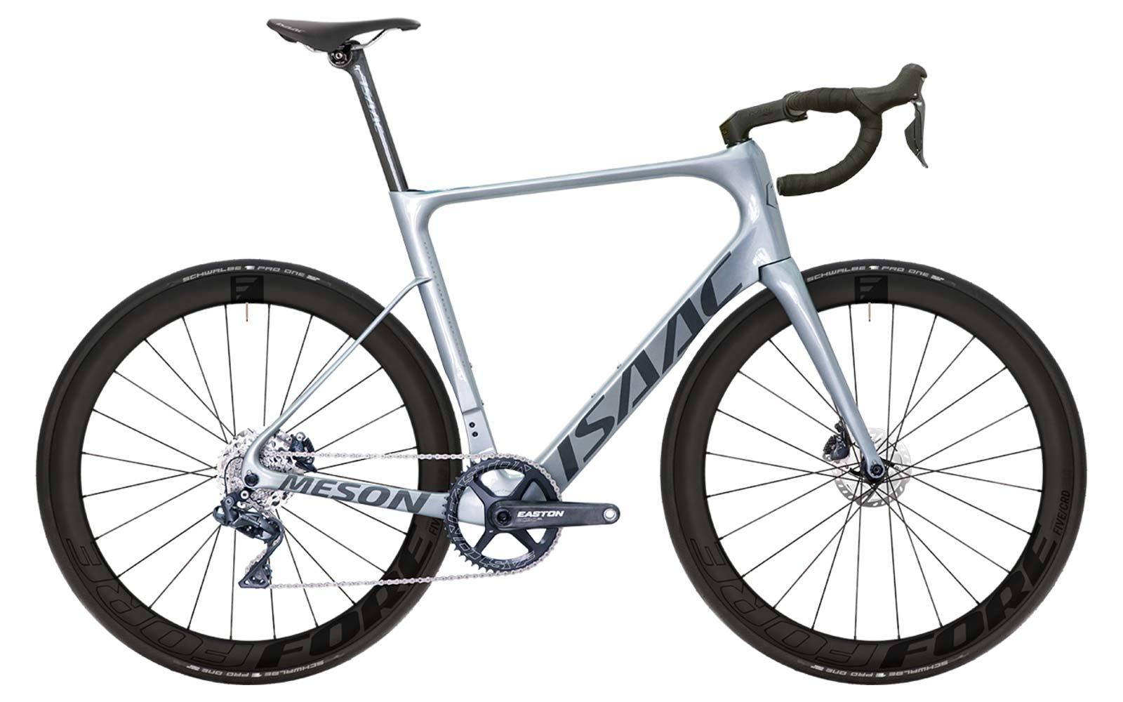 Isaac Meson X Classified 1x aero road bike, wireless electronic internal gear hub 2x11 carbon road race bike,complete