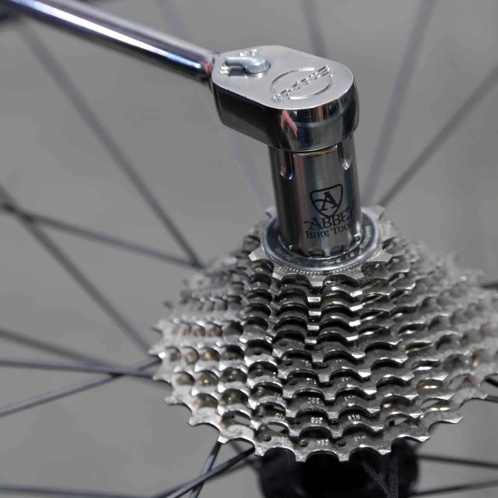 Abbey Bike Tools Socket Crombie on torque wrench