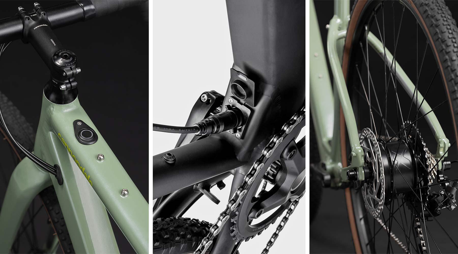 Cannondale Topstone Neo SL lightweight affordable alloy gravel e-bike,Mahle ebikemotion X35+ details