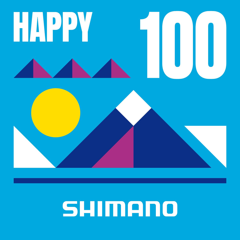 Shimano Happy 100 challenge strava