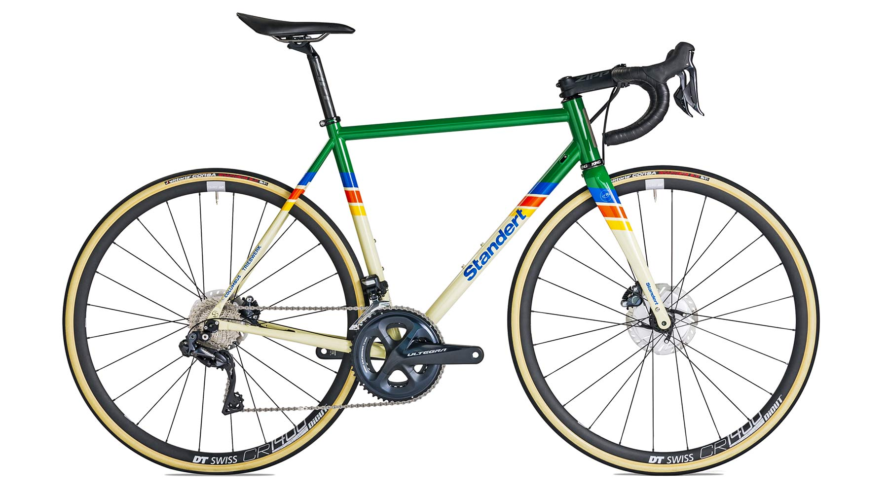2021 Standert Triebwerk Disc all-road bike, updated modern Columbus steel road bike, LTD complete