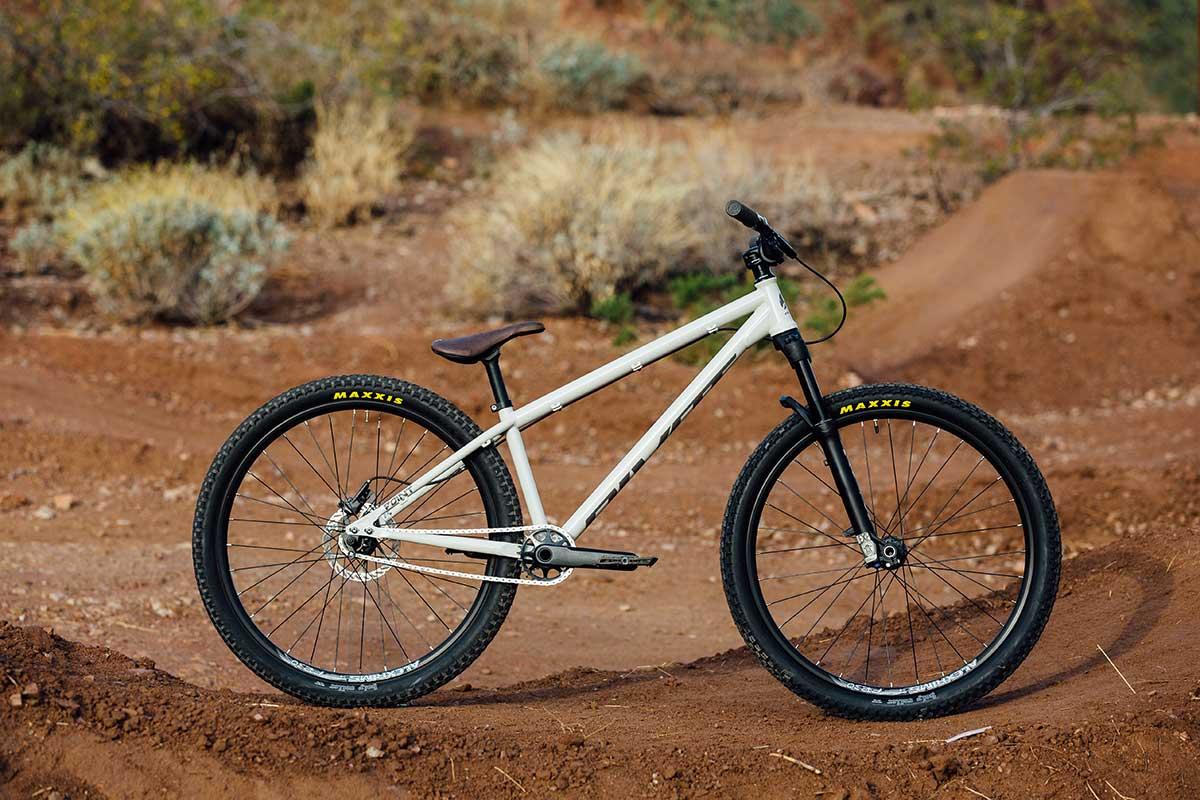 pivot point dj bike steel frame hardtailmtb