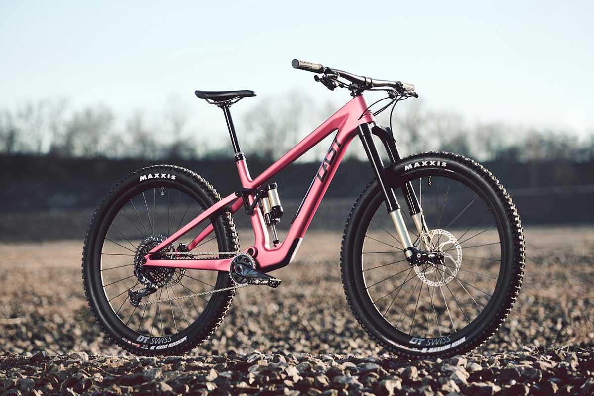 last cinto carbon mountain bike 145mm travel flex pivot