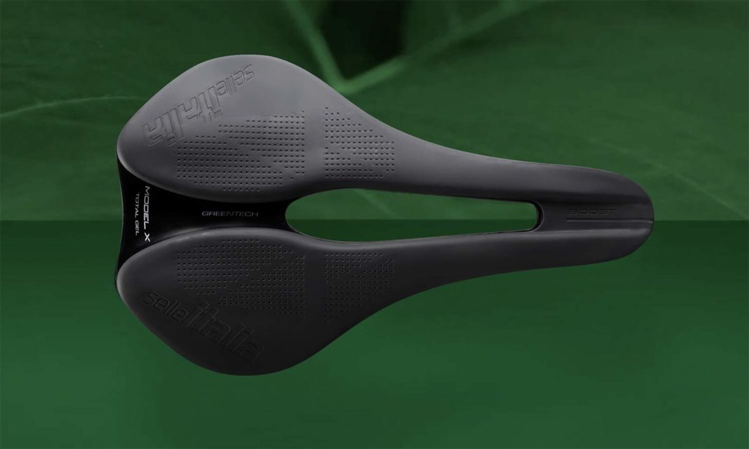 Selle Italia Model-X Green Superflow affordable eco-friendly sustainable saddle