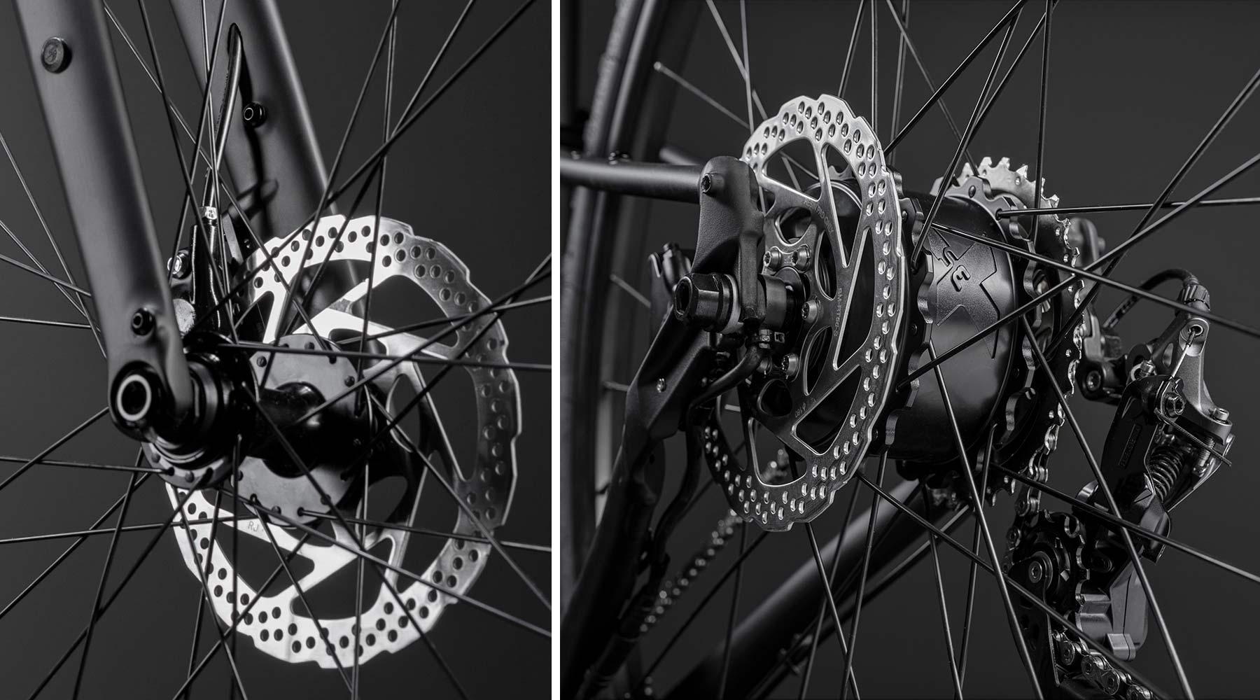 GT Grade Power lightweight, affordable alloy gravel e-bike, Mahle ebikemotion details