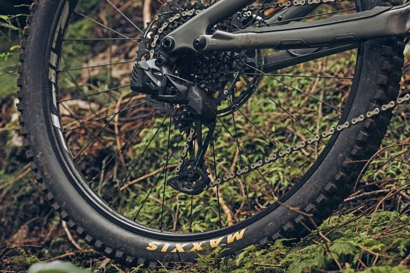 SRAM GX Eagle AXS group, low-cost 1x12-speed wireless electronic MTB mountain bike derailleur
