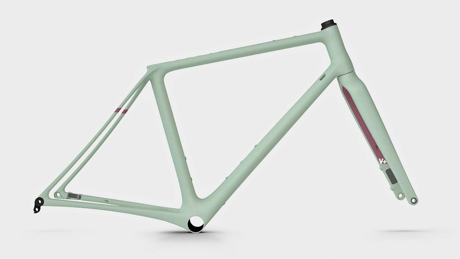 Vielo V+1 gravel bike, updated gen2 lightweight carbon fast gravel race bikes, frameset