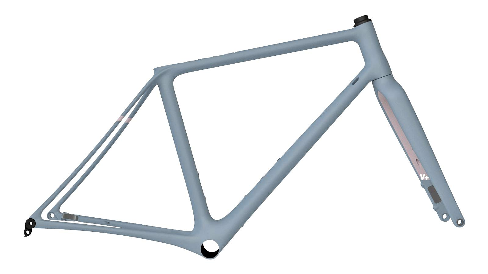Vielo V+1 gravel bike, updated gen2 lightweight carbon fast gravel race bikes, Alto frameset
