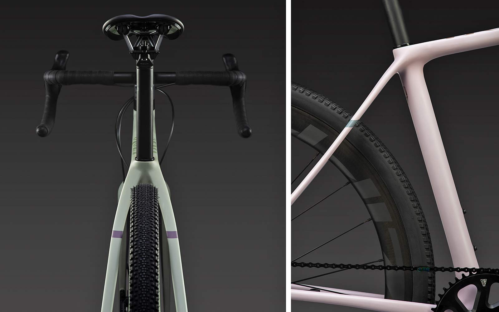 Vielo V+1 gravel bike, updated gen2 lightweight carbon fast gravel race bikes, rear end details