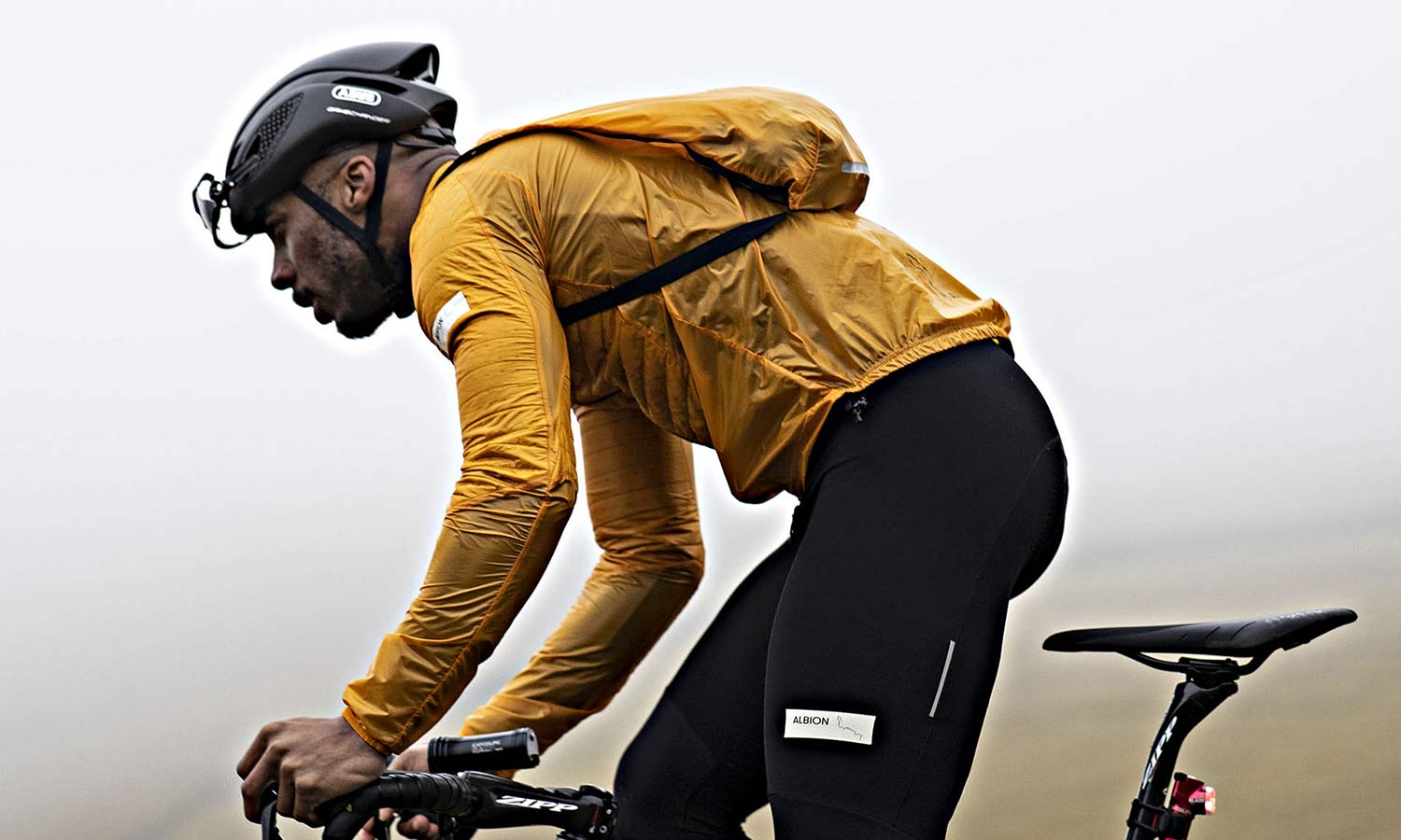 Albion Ultralight Insulated Jacket, ultra lightweight packable breathable eco cycling jacket and backpack,riding