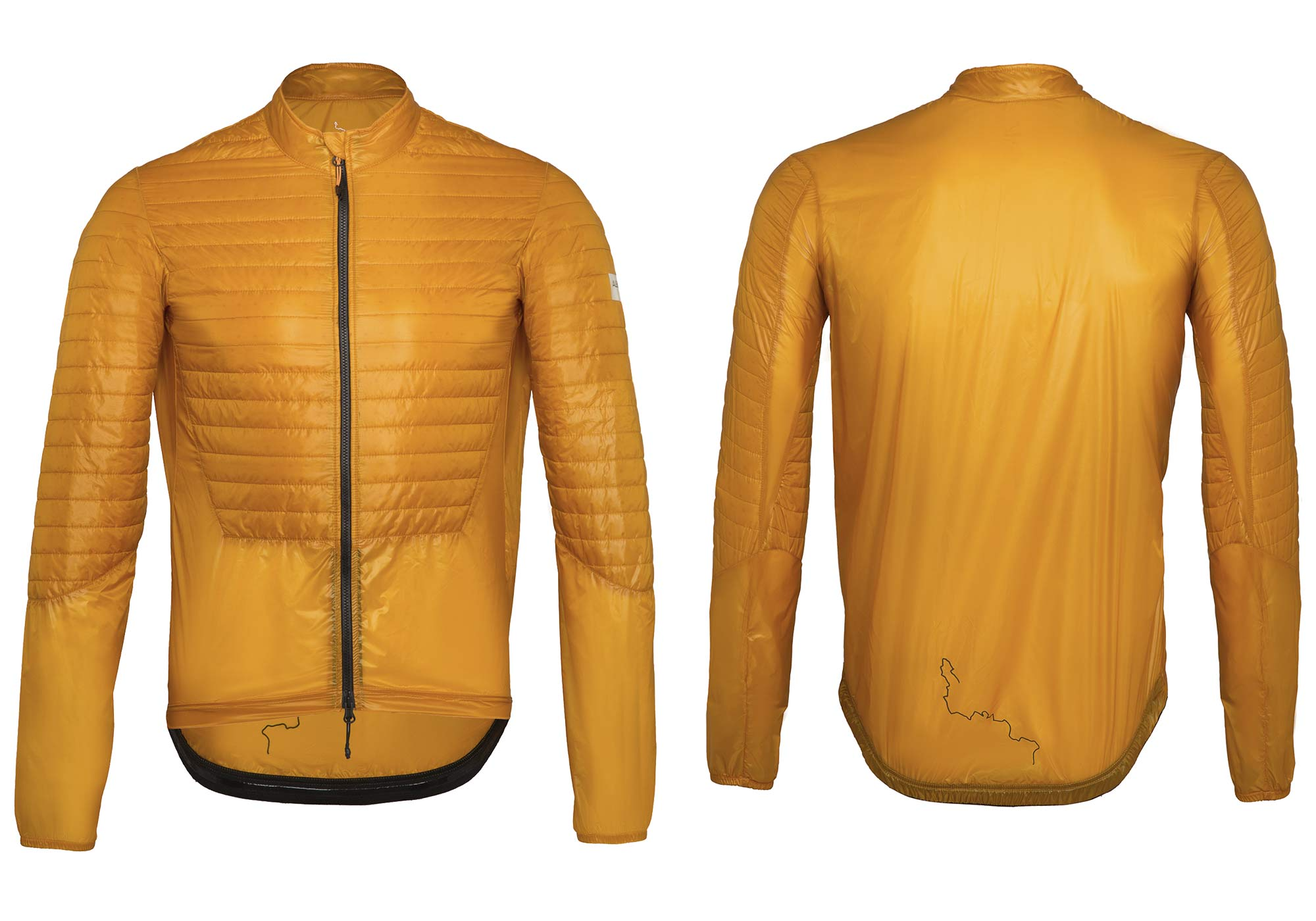 Albion Ultralight Insulated Jacket, ultra lightweight packable breathable eco cycling jacket