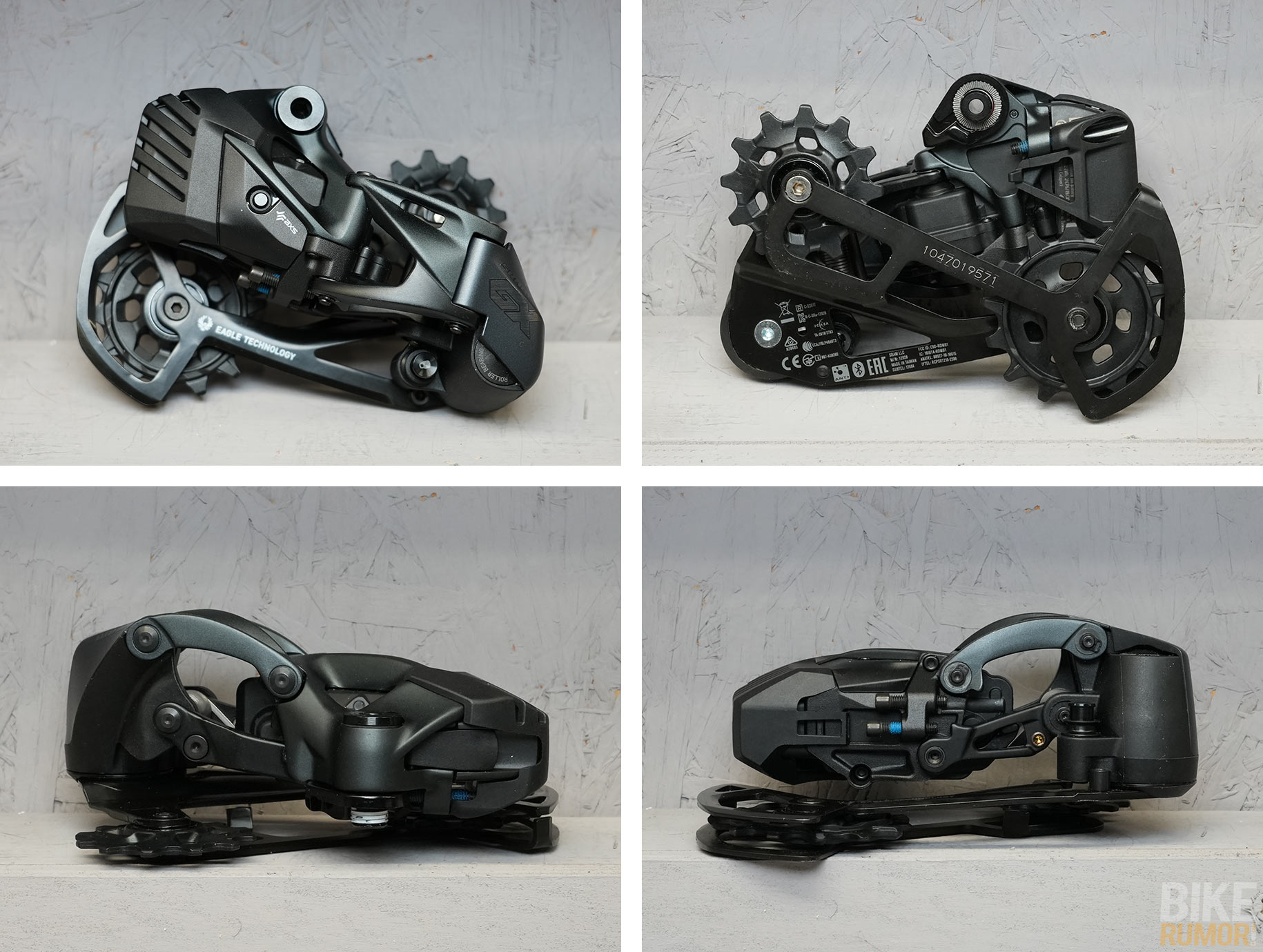 sram gx eagle axs wireless rear derailleur comparison