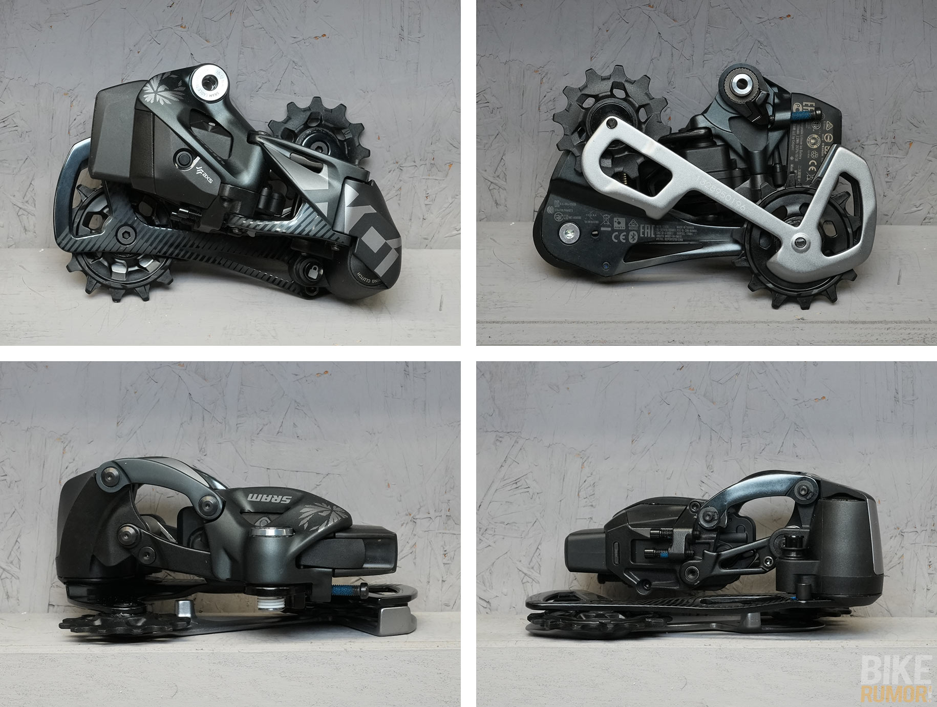 sram xo1 eagle axs wireless rear derailleur comparison