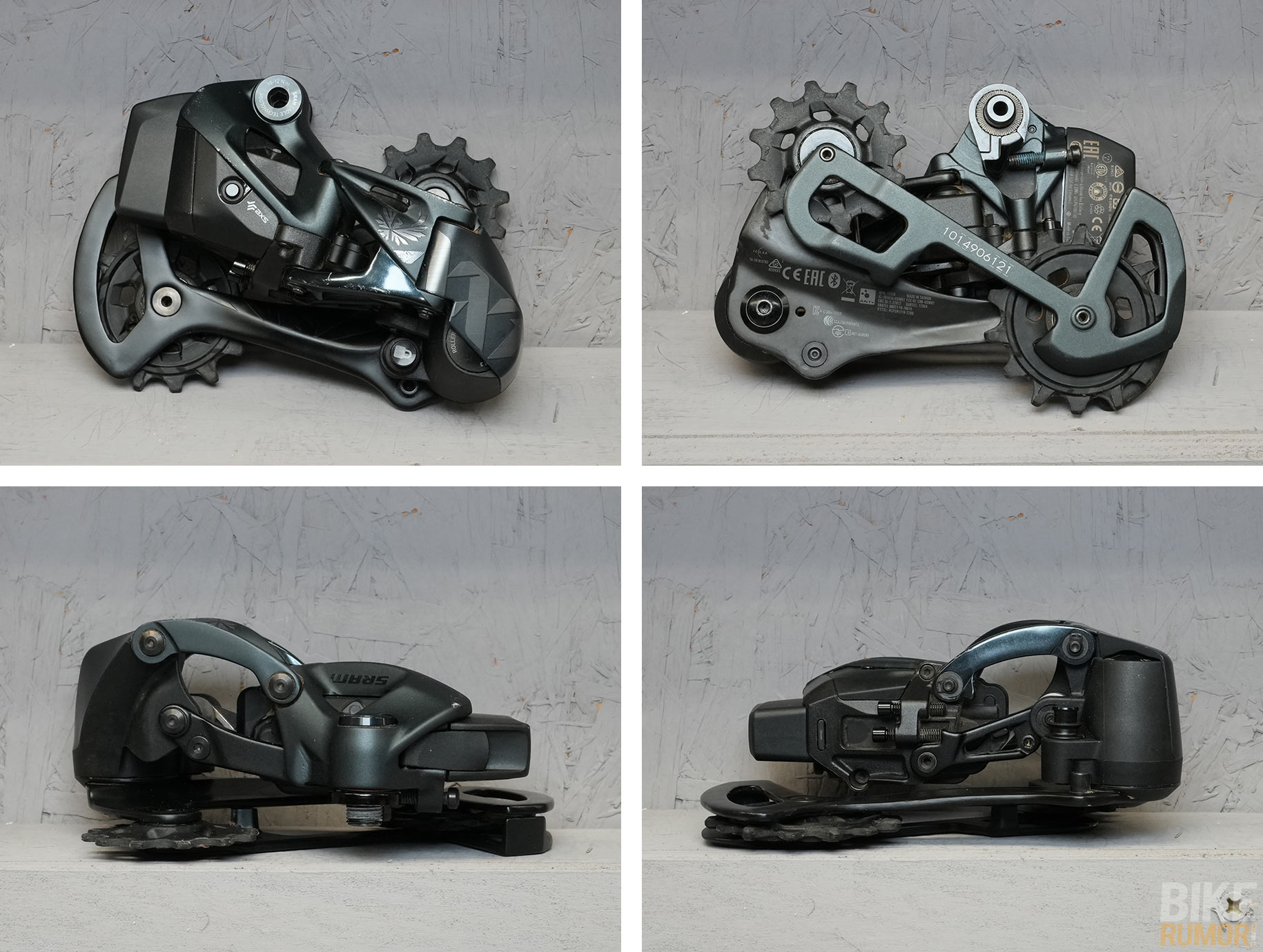 sram xx1 eagle axs wireless rear derailleur comparison