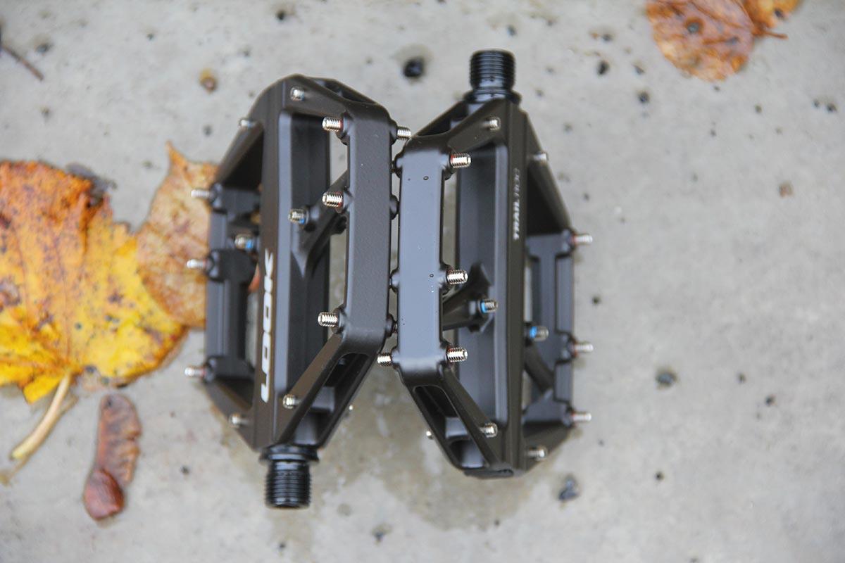look trail roc flat pedal mtb 17mm thick