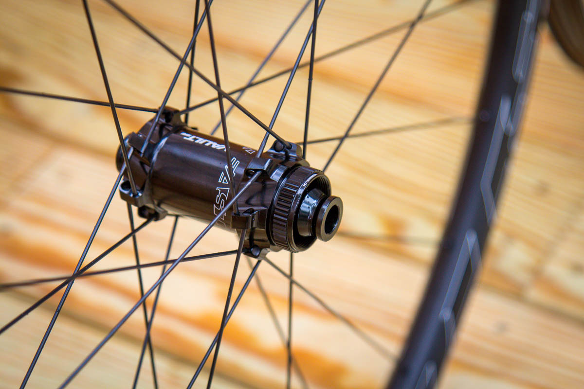 Easton EC90 AX gravel wheels front hub