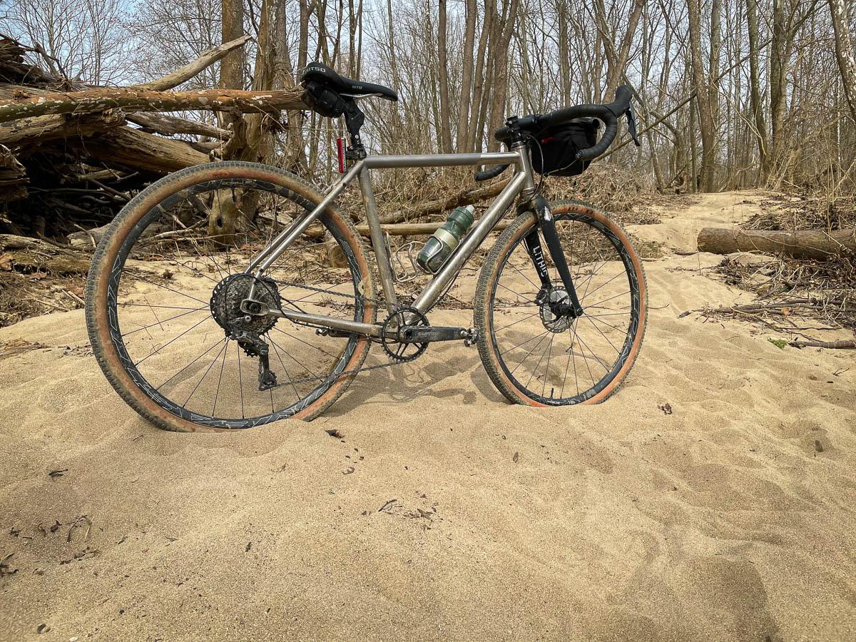 Easton EC90 AX gravel wheels
