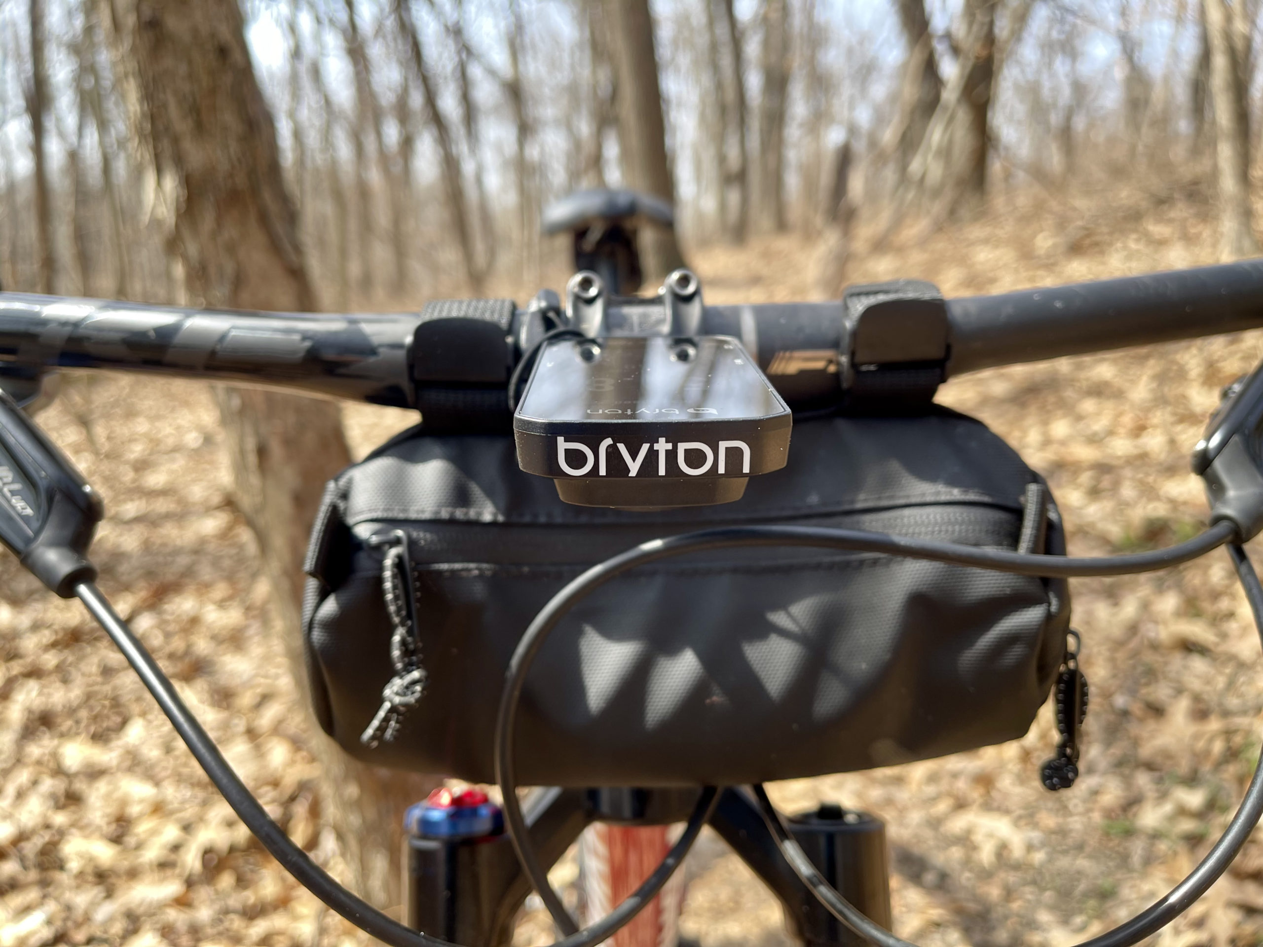 Bryton Rider 750 Review close up trails