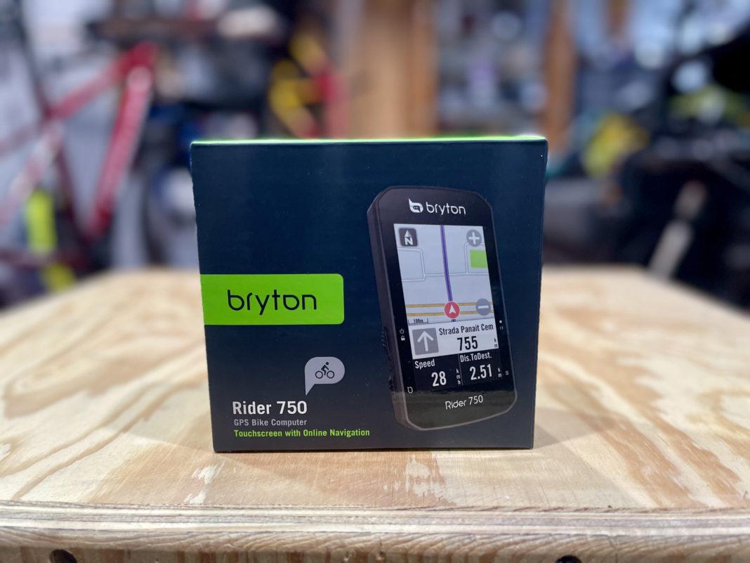 Bryton Rider 750 Review unit close up Header