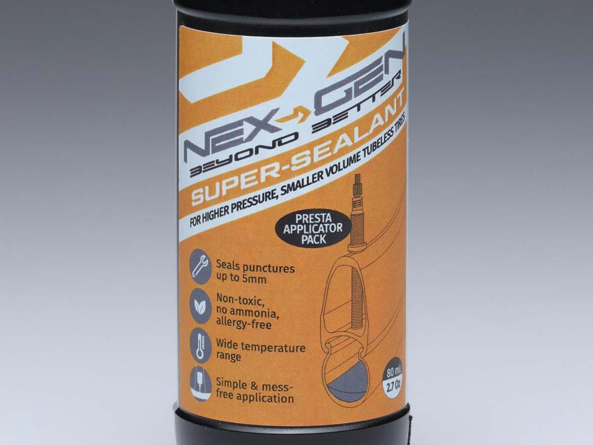 next gen sports super sealant ammonia free high pressure road tire tubeless