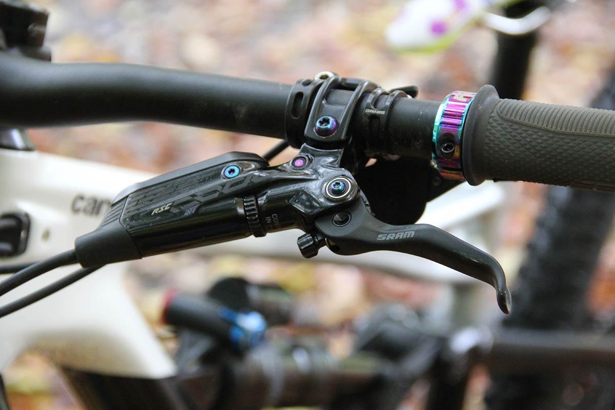 sram code rsc brake lever master cylinder oil slick bolts