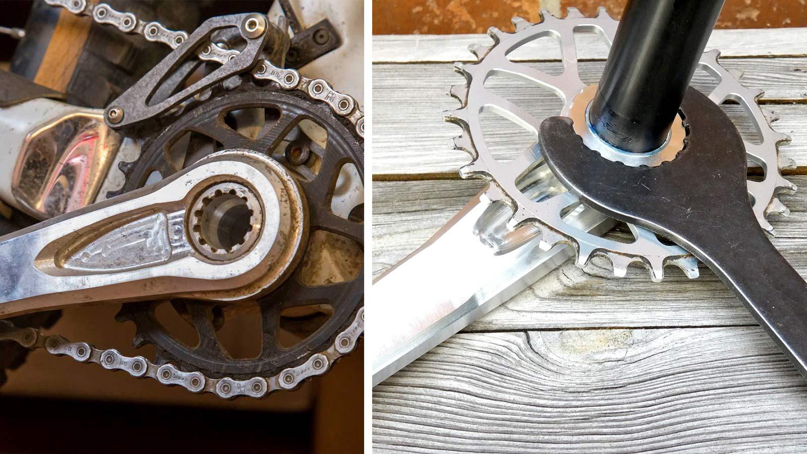Intend Rocksteady cranks, made-in-Germany machined aluminum enduro all-mountain bike crankset,tech details
