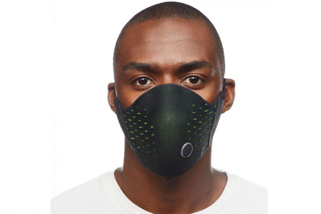 airpop sports mask active+ halo smart sensor track breath rate