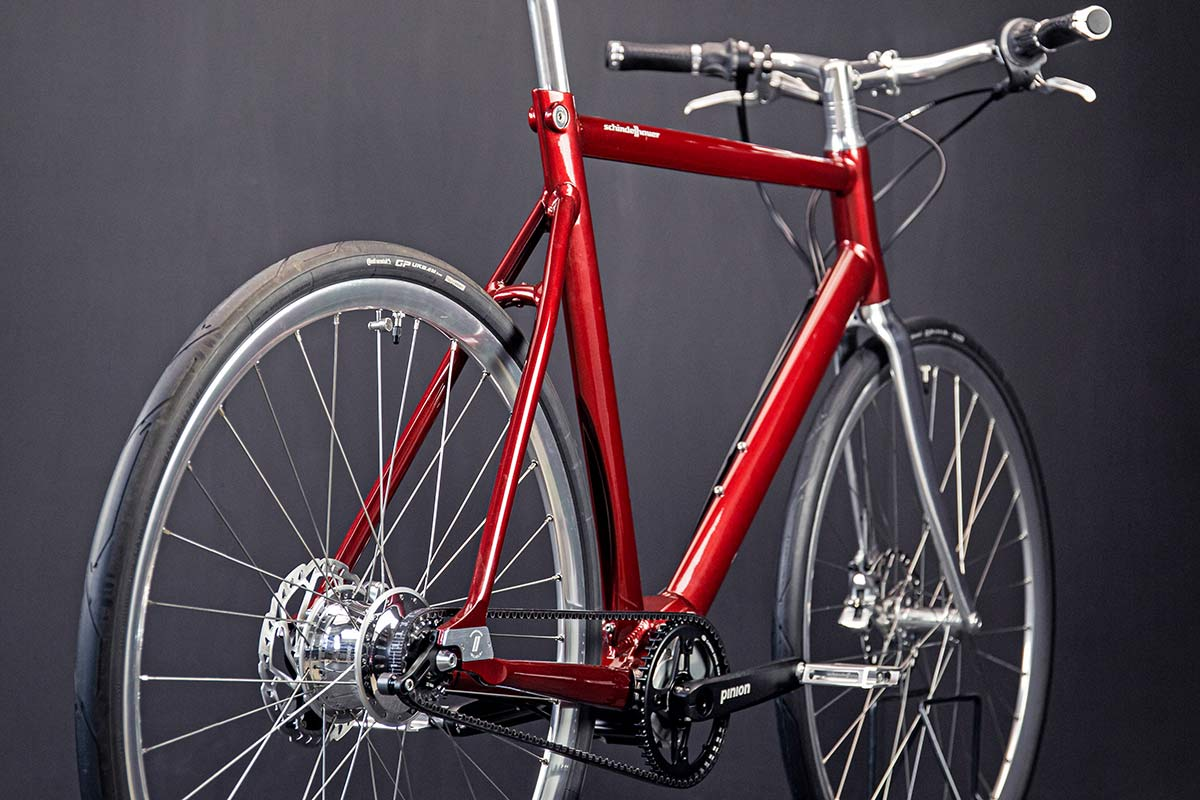 Schindelhauer Wilhelm CCLII 252-speed urban commuter bike