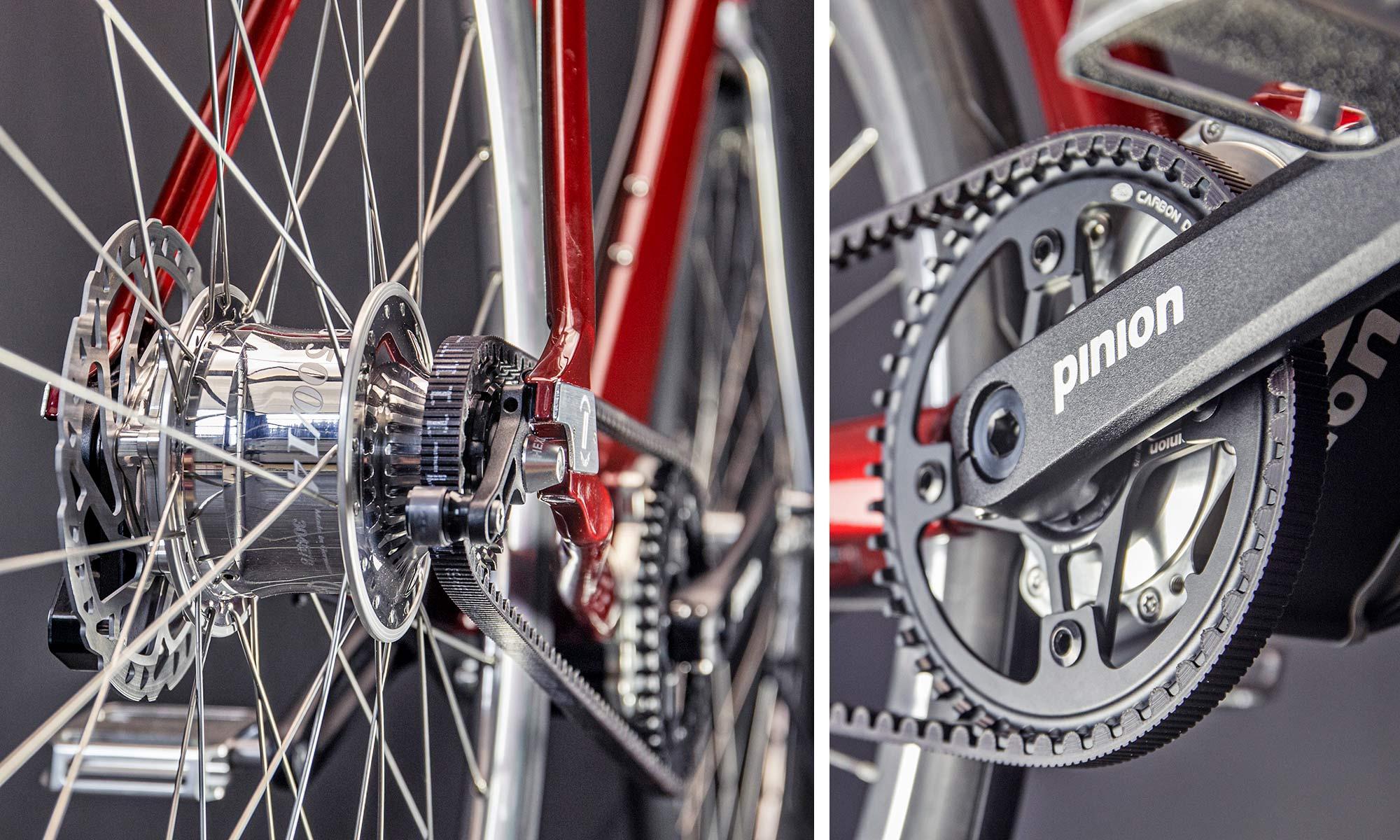 Schindelhauer Wilhelm CCLII 252-speed urban commuter bike, Rohloff + Pinion