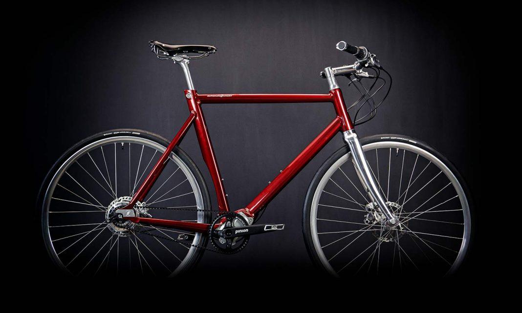 Schindelhauer Wilhelm CCLII 252-speed urban commuter bike, teaser