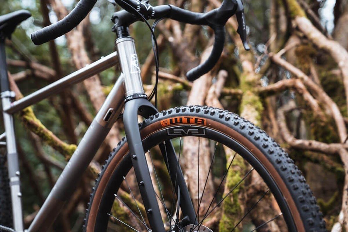Ribble Gravel Ti gravel bike tire clearance