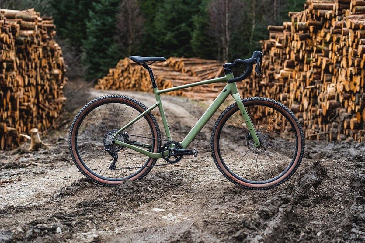 Ribble Gravel AL e gravel e-bike side profile