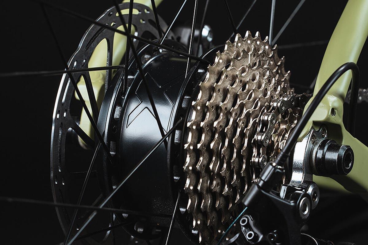 Ribble Gravel AL e gravel e-bike rear hub