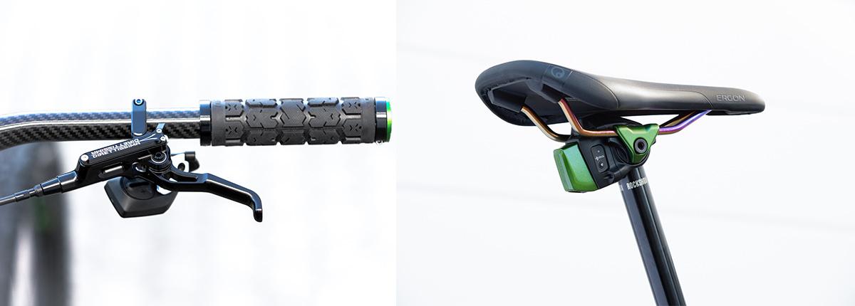 antidote carbonjack 29 porsche custom build grips dropper seatpost axs