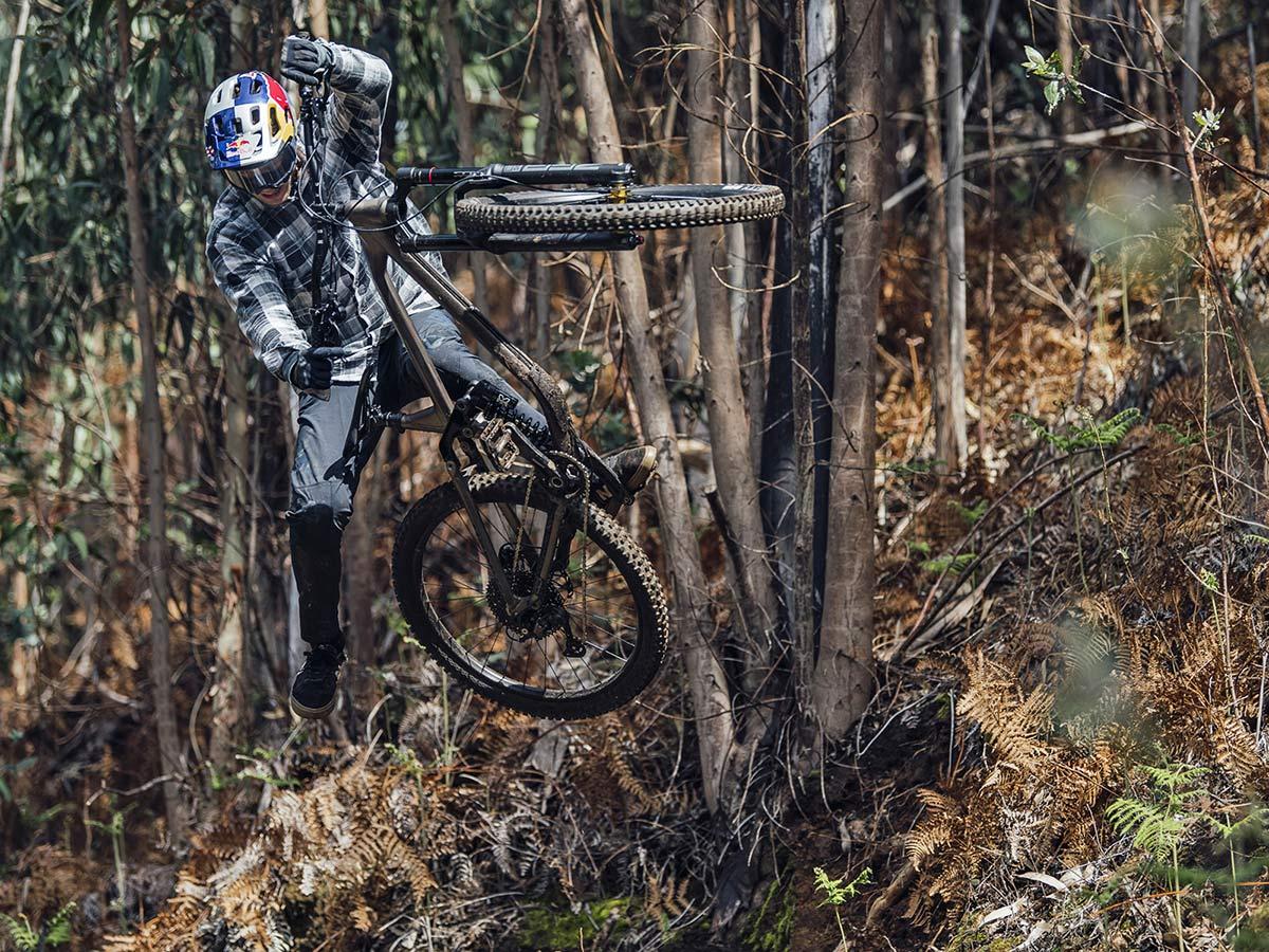 NS Bikes Define AL 170 long-travel mullet enduro plus all-mountain bike, ride photo by Bartek Wolinski, AL 170 2