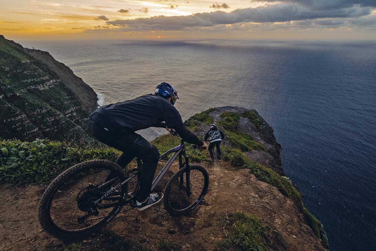 NS Bikes Define AL 170 long-travel mullet enduro plus all-mountain bike, ride photo by Bartek Wolinski,downhill